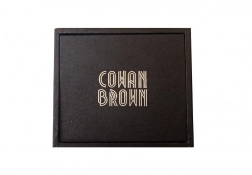 COWAN BROWN Revolving Lid Box
