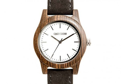 Monroe Wood Watch